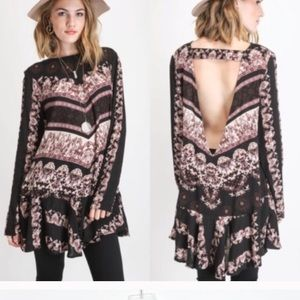 NWT FREE PEOPLE SMOOTH TALKER DRESS/TUNIC
